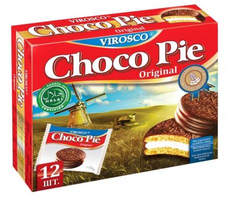 Печенье Choco Pie VIROSCO Original 336 гр.