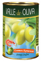 Оливки с креветкой