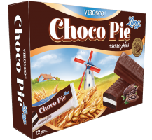 Чокопай LONG какао плюс №12 216 гр